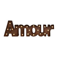 Studio Décor Marquee Sign, Amour